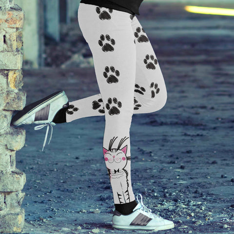 Image of Cats Around the Ankles Leggings