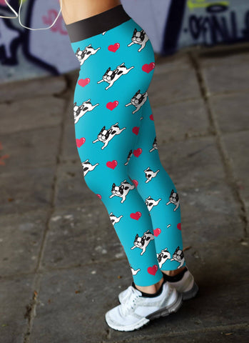 Image of French Bulldog Leggings