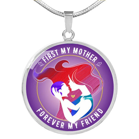Image of First My Mother Luxury Necklace