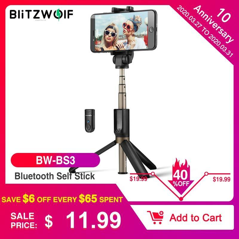 Wireless Bluetooth  Mini Tripod  Selfie Stick