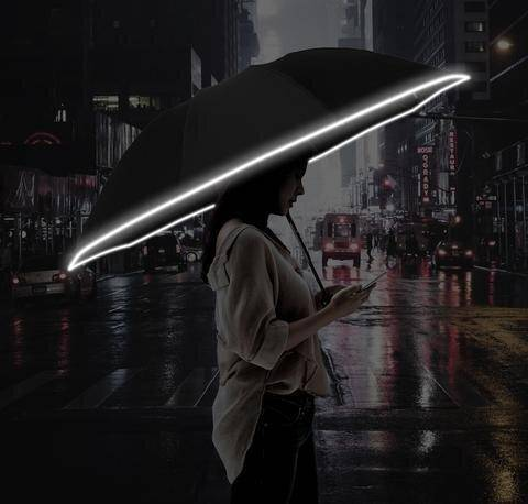 LED Folding Umbrella