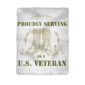 ArmyVET Sublimation Baby Blanket