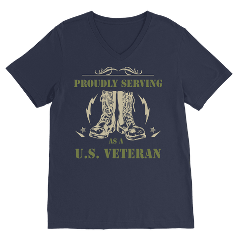 Image of ArmyVET Premium V-Neck T-Shirt