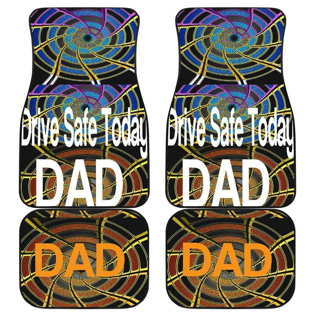 Drive Safe Car Floor Mats For Dad!