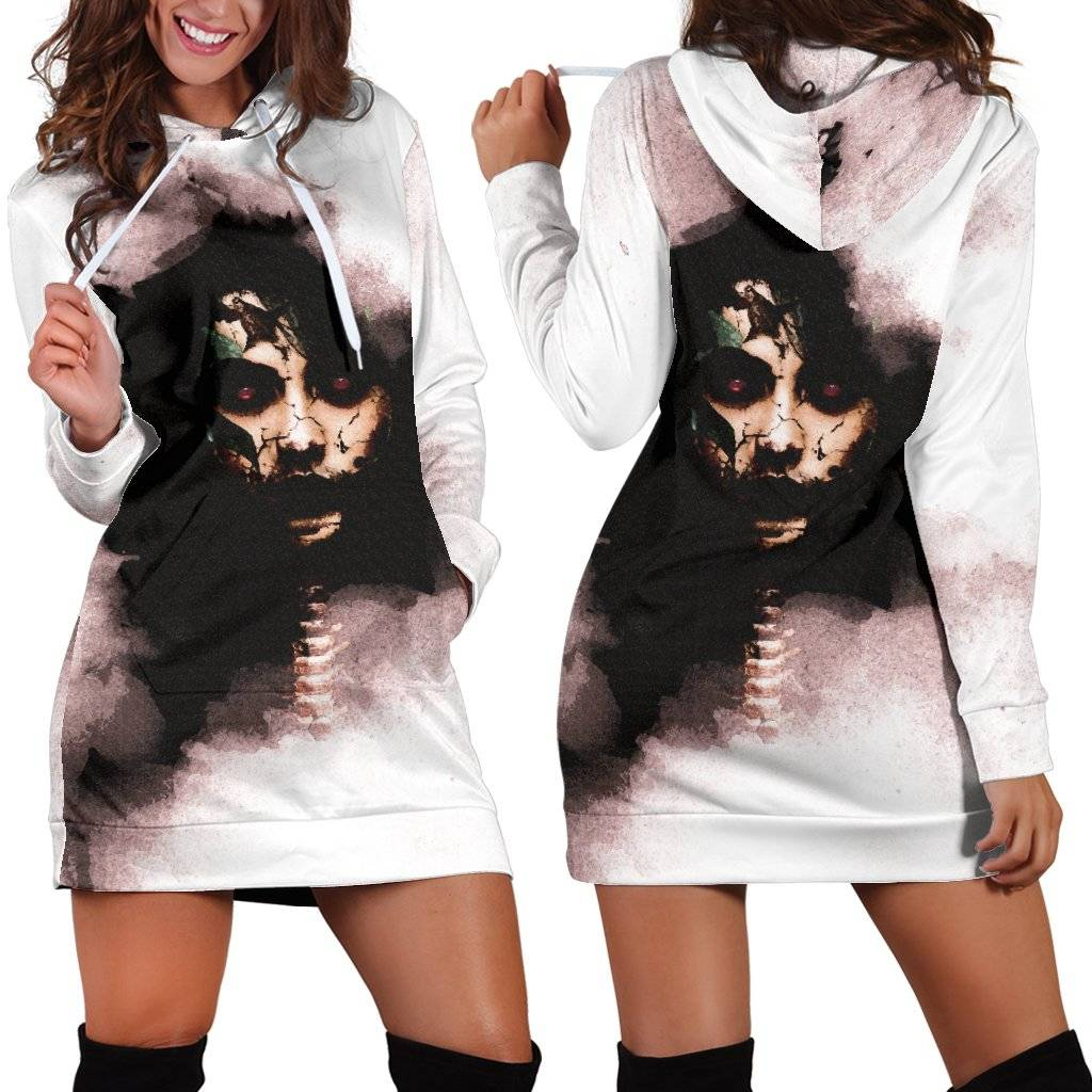 Macabre Mythology (Penanggalan) Women's Hoodie Dress