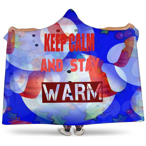 Image of Keep Calm Hooded Blank