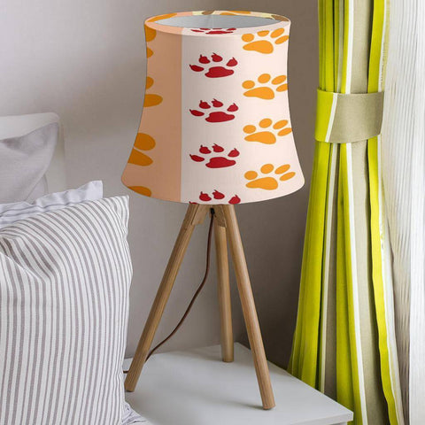 Image of Dog Print Drum Lamp Shade