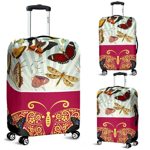 Image of The Butterfly Suitcase Cover