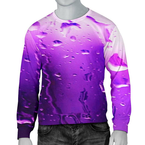 Image of Wet Look Men's Sweater