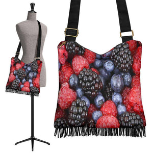 Crossbody Boho Fruit Handbag