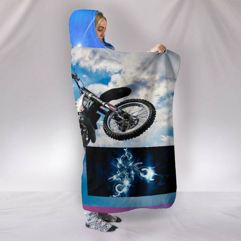 Bikeathon Hooded Blanket