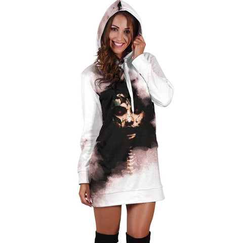 Image of Macabre Mythology (Penanggalan) Women's Hoodie Dress