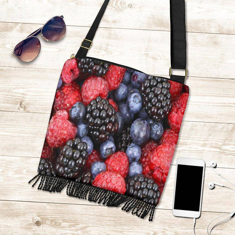 Image of Crossbody Boho Fruit Handbag
