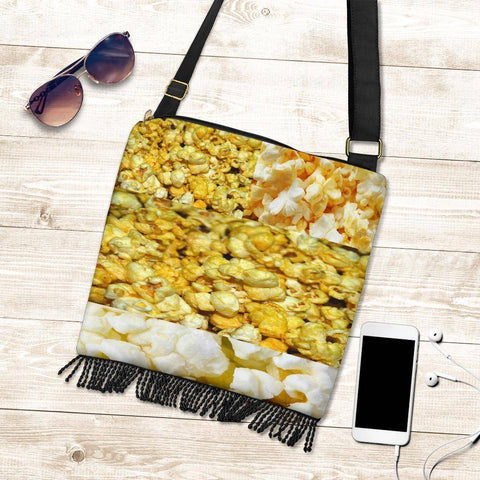 Image of Crossbody Boho Popcorn Handbag