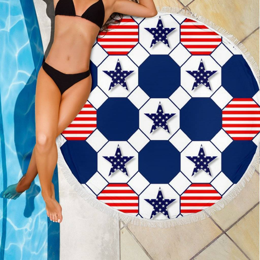Stars and Stripes Beach Blanket