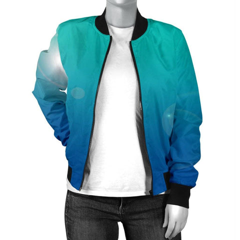 Womens High Top Shoes And Bomber Jacket