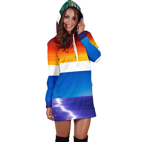 Image of Fall Hoodie Dress