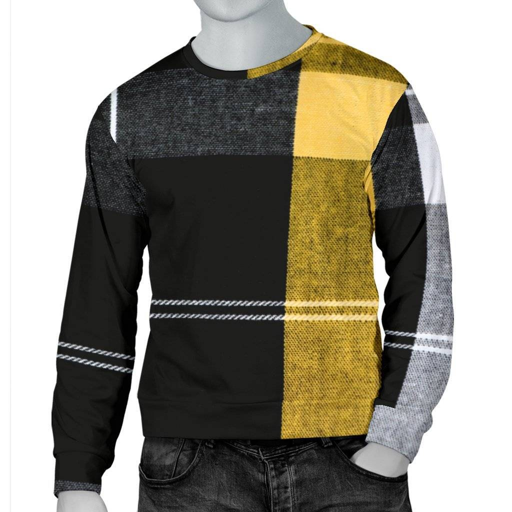 Men's Plaid Sweater