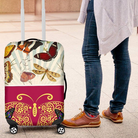 The Butterfly Suitcase Cover