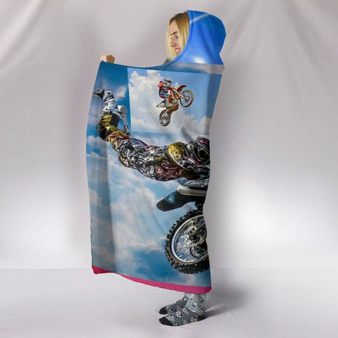 Image of Bikeathon Hooded Blanket