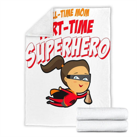 SuperHero Mom Blanket