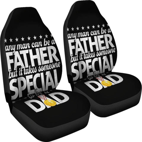 Special Dad Car seat cover