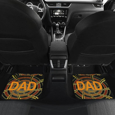 Image of Drive Safe Car Floor Mats For Dad!