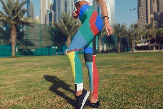 Sonia Delaunay Leggings For Women Yoga Pants Party