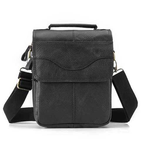 Image of Men Quality Leather Casual  Shoulder bag