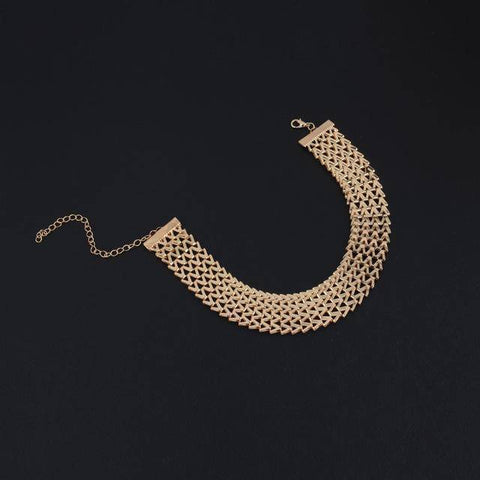 Women Gold  Necklace