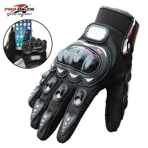 Image of Touch Screen Motorcycle gloves