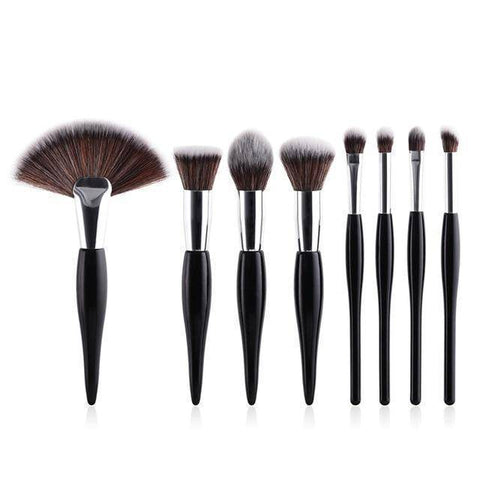 Image of Women Eyeshadow Facial Makeup Brush Set