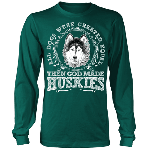Image of Then God Made Huskies