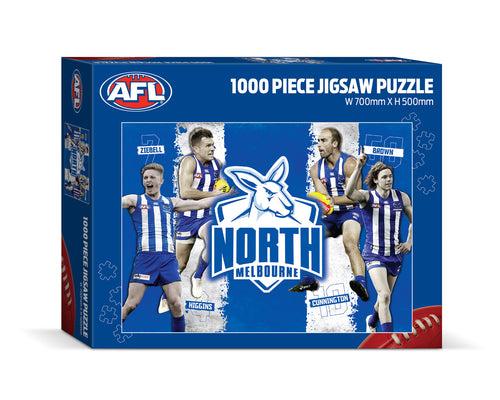 North Melbourne Kangaroos 1000 Piece Jigsaw Puzzle
