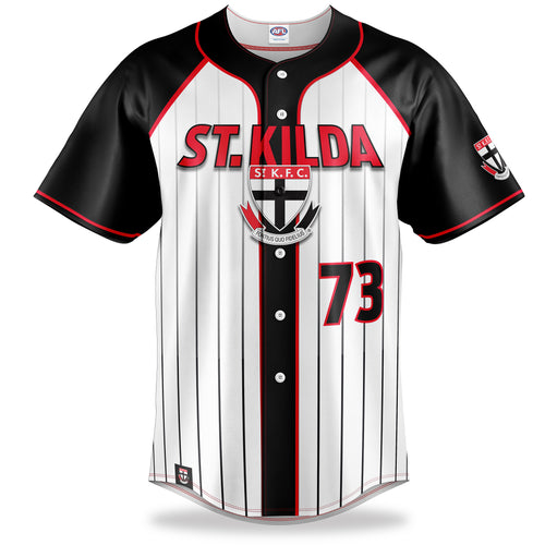 AFL St Kilda Baseball Shirt
