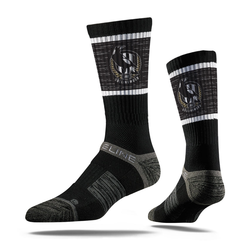 Collingwood Magpies Premium Crew Team Socks