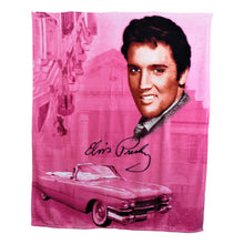 Elvis Presley Throw Blanket - Pink Cadillac
