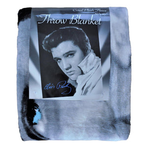 Elvis Presley Throw Blanket - White Collar
