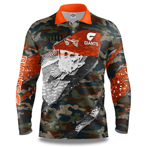 "AFL GWS Giants ""Skeletor"" Fishing Shirt"