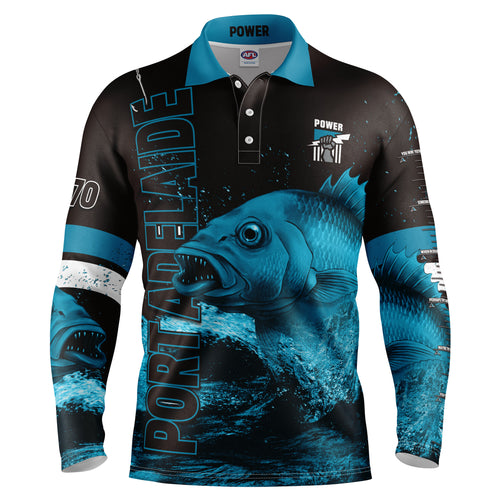AFL Port Adelaide Fishing Shirt
