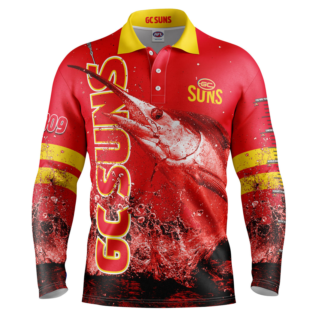 AFL Gold Coast Fishing Shirt