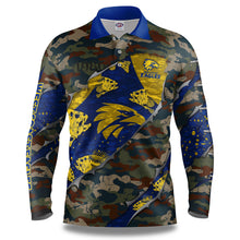 "AFL West Coast Eagles ""Skeletor"" Fishing Shirt"