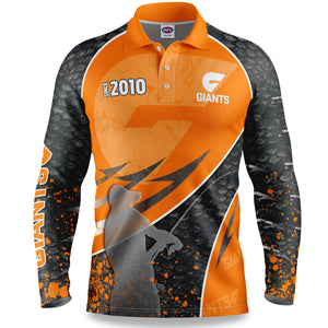 GWS Giants Fishing Shirt Front