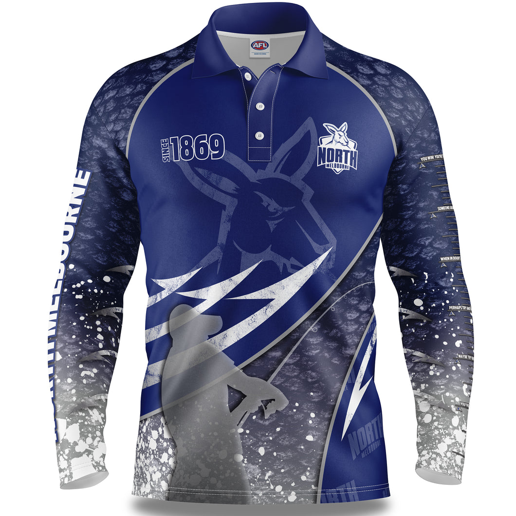 North Melbourne Fishing Shirt Front