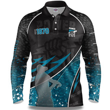 Port Adelaide Fishing Shirt Front