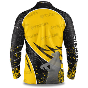 Richmond Tigers Fishing Shirt Back