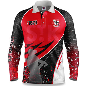 St Kilda Fishing Shirt Front