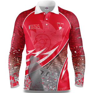 Sydney Swans Fishing Shirt Front