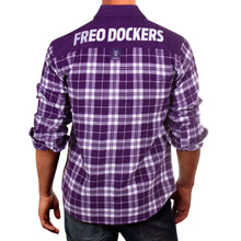 AFL Flannel Shirt Fremantle Dockers Back