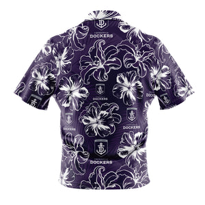 AFL Fremantle Dockers 'Floral' Hawaiian Shirt